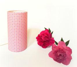 LAMPE A POSER Geometric Rose