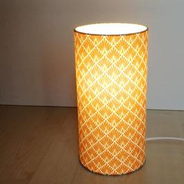 LAMPE A POSER Ecailles Jaune