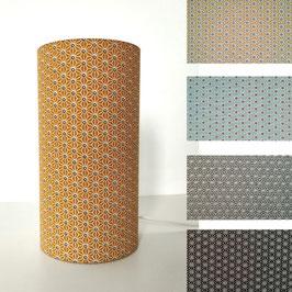 LAMPE A POSER Asanoha coloris au choix