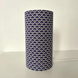 LAMPE A POSER  Éventails bleu violet