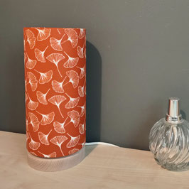 LAMPE A POSER SOCLE Gingko orange