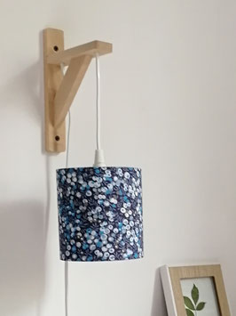 APPLIQUE MURALE SUSPENDUE Liberty Whiltshire Bleu nuit