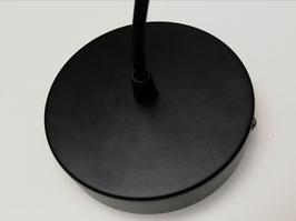 Câble suspension rosace noir 1 m