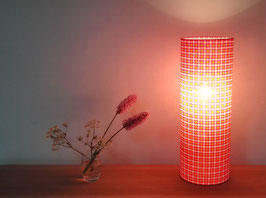 LAMPE  A POSER  POP ROSE ET ORANGE