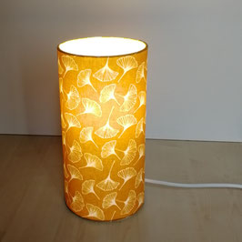 LAMPE A POSER Gingko Jaune