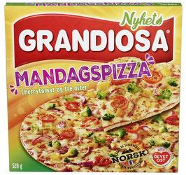PIZZA GRANDIOSA MANDAGSPIZZA 528G