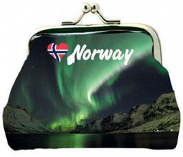 Norge Geldbörse Nordlys