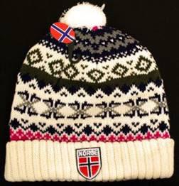 Norges kolleksjon, strikkelue, Gjøvik