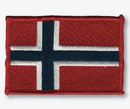 FLAGG BRODERI, 9X6 CM