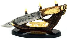 stor Wolf Hunting Knife