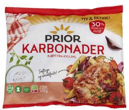 KARBONADER KYLLING PRIOR 630g