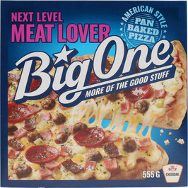 PIZZA BIG ONE MEAT LOVER 555G