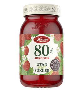 JORDBÆRSYLTETØY u/Sukker 330g Lerum