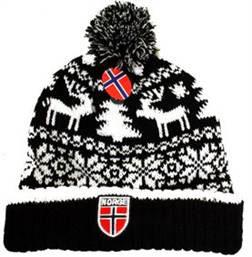 Norges kolleksjon, strikkelue, Lillehammer