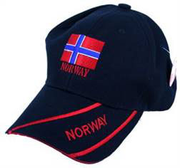 Norges Kolleksjon, caps flagg, sandwich, navy
