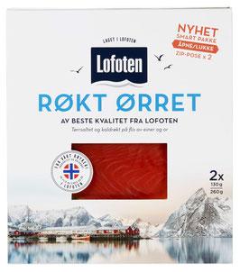 ØRRET RØKT SKIVET 260G LOFOTEN