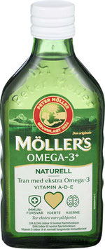 MØLLERS TRAN OMEGA-3 250ML