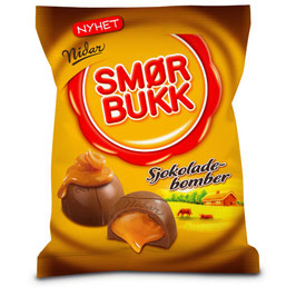 Nidar Smørbukk Sjokoladebomber