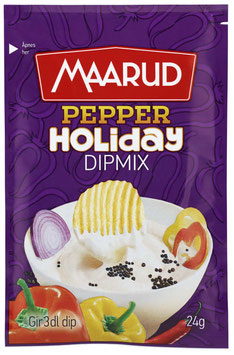 DIPMIX HOLIDAY PEPPER 24G MAARUD