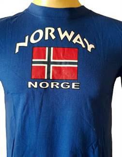T-Shirts Norway blå