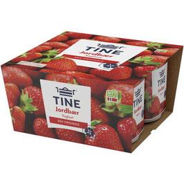 TINE Yoghurt Jordbær 4x150g