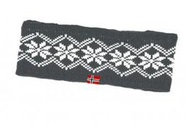 PANNEBÅND GRÅ/HVIT