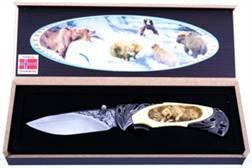 3D lommekniv, Bjørn