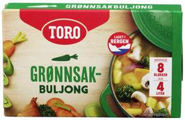 GRØNNSAKSBULJONG 80G TORO