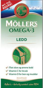 MÖLLERS OMEGA-3 LEDD 66STK