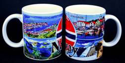 Norges kolleksjon, kaffekrus, bilde kol. 2