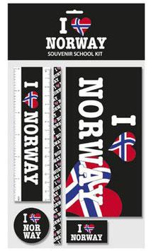 I LOVE NORWAY, SKOLESETT, STORT