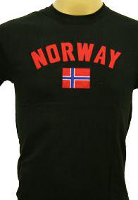Norges Kolleksjon, T-Shirts, Brodering