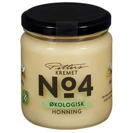 HONNING NO.4 Kremet Økol 350g Petters ØKOLOGISK