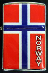 Norges Kolleksjon, Lighter med flagg