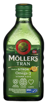 MØLLERS TRAN SITRON 250ML