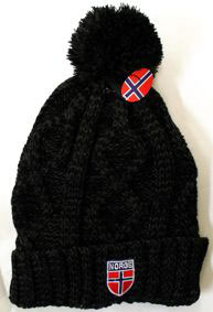 Norges kolleksjon, strikkelue, Røros