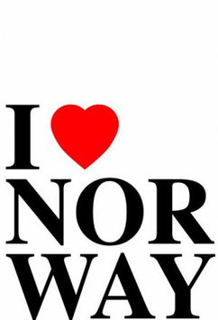 MAGNET NORGE I LOVE NORWAY