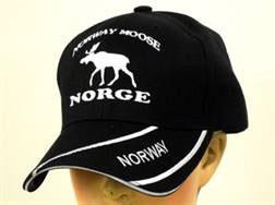 Norges Kolleksjon, caps m/elg sort