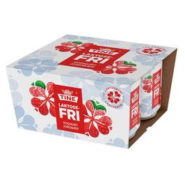 TINE Laktosefri Yoghurt Jordbær 4x125 g