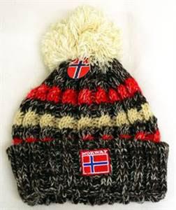 Norges kolleksjon, strikkelue, Ål