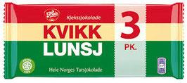 Kvikk Lunsj 3-pk Freia