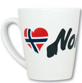 KOPP M/ LOVE NORWAY LOGO