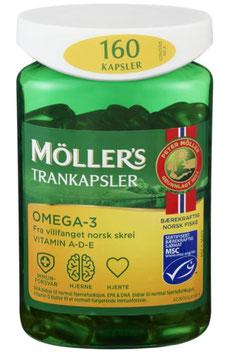 MØLLERS OMEGA-3 MSC 160STK MØLLERS