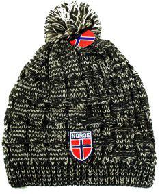 Norges kolleksjon, strikkelue, Melange