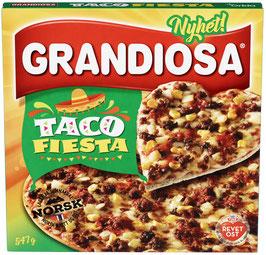 PIZZA GRANDIOSA TACO FIESTA 547G