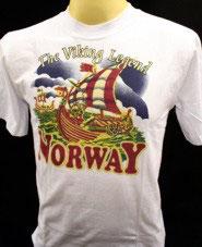 T-Skjorter, Viking båt
