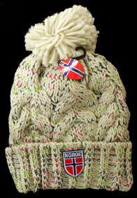 Norges kolleksjon, strikkelue, Hamar
