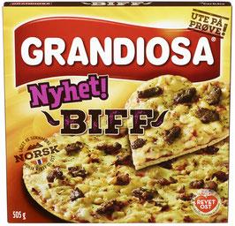 PIZZA GRANDIOSA BIFF 505G