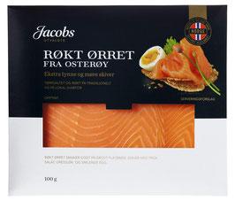 ØRRET RØKT JACOBS 100g GOURMET