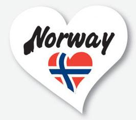 STICKERS, NORWAY